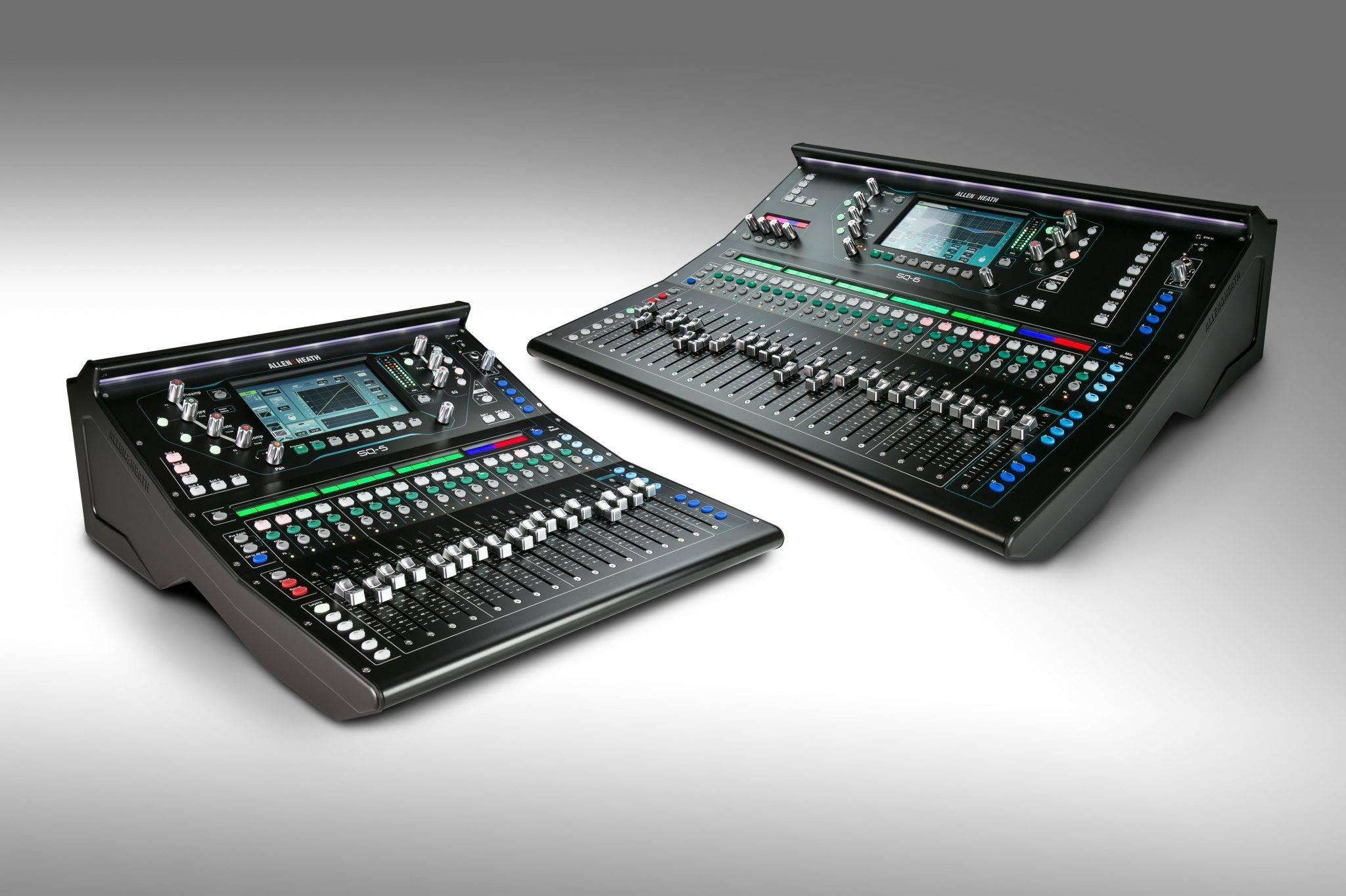 New Mixing Desks
